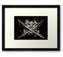 Trinity in Mono Framed Print
