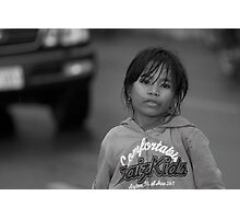 Lost childhood Photographic Print