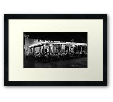 Cafe Du Monde - French Quarter Framed Print