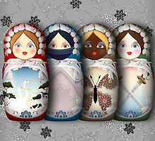 The Matryoshka Parade (Silver Edition) by Yanko Tsvetkov