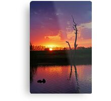 Elmore Sunset Metal Print
