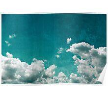 Grunge sky Poster