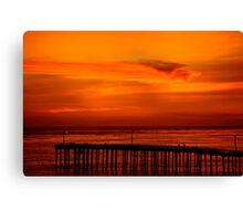 Cayucos Sunset Canvas Print