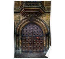 History Of Science Museum Door - Oxford Poster