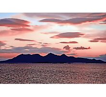 Pink Rhum Photographic Print