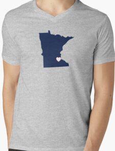 Home Sweet Minnesota Mens V-Neck T-Shirt