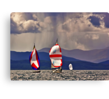 Sailing off Mull Canvas Print