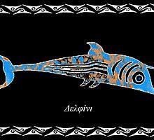 Delphinus delphis -  Dolphin by joancaronil