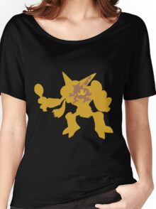 PKMN Silhouette - Abra Family Women's Relaxed Fit T-Shirt