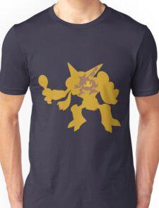 PKMN Silhouette - Abra Family Unisex T-Shirt