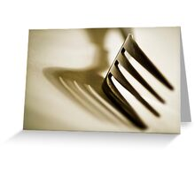 Utensil No1 Greeting Card