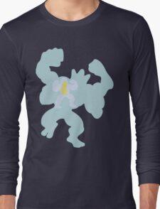 PKMN Silhouette - Machop Family Long Sleeve T-Shirt