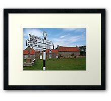 Summer's day at Goathland Framed Print