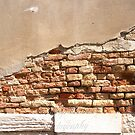 An old wall in Venice by Michele Filoscia
