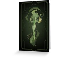 Dryad - Poster Greeting Card