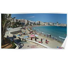 Calpe on the Beach Poster