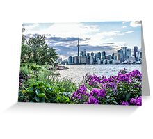 The CN Tower and Toronto skyline Greeting Card