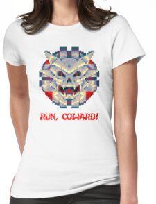 Run Coward! Womens Fitted T-Shirt