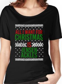 All I Want For Christmas (Jensen Ackles) Women's Relaxed Fit T-Shirt
