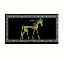 Greek Horse Art Print
