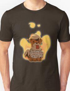 Pokeshaming - Growlithe Unisex T-Shirt