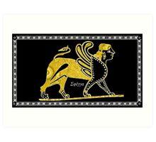 Greek Sphinx Art Print
