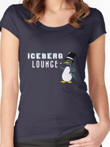 Iceberg Lounge  Women's Fitted Scoop T-Shirt