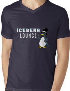 Iceberg Lounge  Mens V-Neck T-Shirt