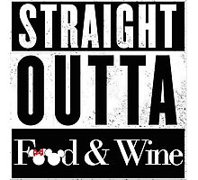 Straight Outta Epcot Food and Wine Photographic Print