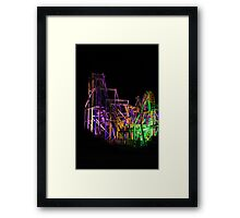 Monster Ride Framed Print