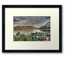 Icmeler Turkey  FEATURED IN Artists Universe  Framed Print