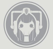Cyberman Face (Grey) by trekspanner