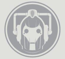 Cyberman Face (Grey) by trekspanner