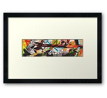 For The Birds Skate Deck Design Framed Print