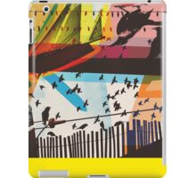 For The Birds Skate Deck Design iPad Case/Skin