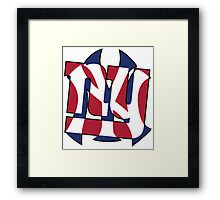 New York Sports teams Framed Print