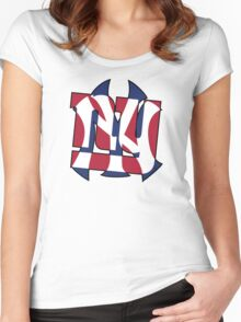 New York Sports teams Women's Fitted Scoop T-Shirt