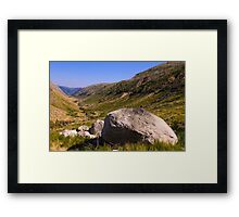 Vale do Zezere, Parque Natural da Serra da Estrela, Portugal Framed Print