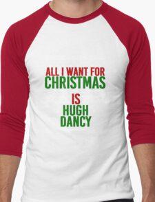 All I Want For Christmas (Hugh Dancy) Men's Baseball ¾ T-Shirt