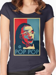 POP POP Women's Fitted Scoop T-Shirt