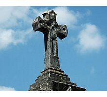 Tomb Cross Photographic Print