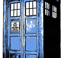 Doctor Who Tardis by Edward Fielding