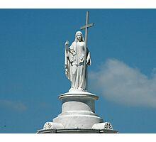 Religious Tomb Statue Photographic Print