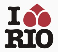 I LOVE RIO by Rene Juan de la Cruz