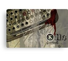 Censorship Kills Period, by Alma Lee Canvas Print