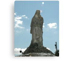 Tomb Statue Canvas Print