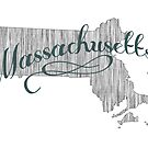 Massachusetts State Typography by surgedesigns