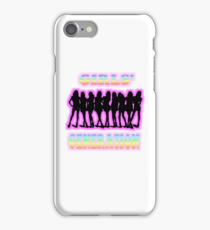 SNSD Girls' Generation iPhone Case/Skin