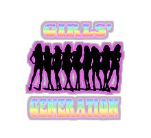 SNSD Girls' Generation Photographic Print