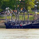 The Nina & The Pinta In Arkansas by WildestArt